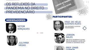 ESA-PB realizará Webinar sobre os Reflexos da Pandemia no Direito Previdenciário