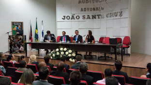 Palestra sobre Empreendedorismo e Plano de Negócios para advogados e escritórios lota auditório da O