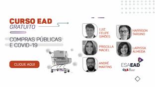 ESA-PB disponibiliza curso EAD gratuito sobre contas públicas e Covid-19