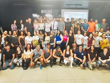 Formação de monitores do SBC vai à Escola chega à Goiás