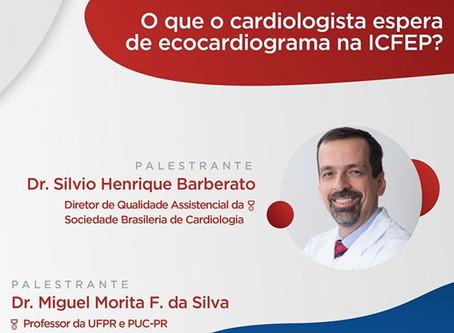 O que o Cardiologista espera do ecocardiograma na ICFEP?