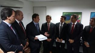 OAB-PB entrega à ALPB anteprojeto de Lei com proposta de redução das custas judiciais na PB