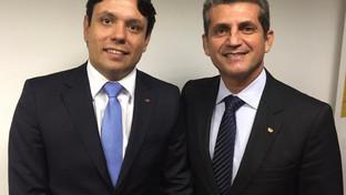 Paulo Maia e Assis Almeida visitam Cajazeiras para discutir planejamento da Subseção da OAB