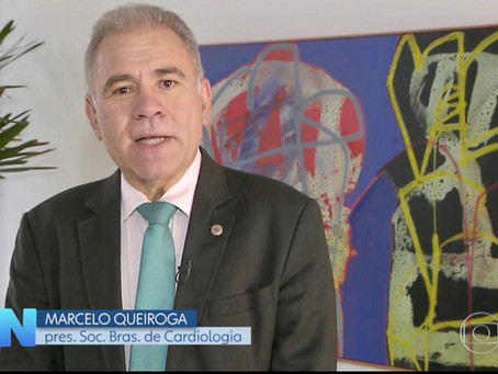 Jornal Nacional: Telecardiologia leva atendimento médico para quem está no grupo de risco da COVID19