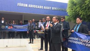 OAB-PB realiza Desagravo Público em favor de advogado desrespeitado por juiz no Sertão da PB