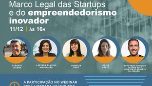AASP promove webinar gratuito para debater Marco Legal das Startups