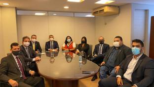 Presidente da OAB-PB se reúne com Anacrim e debate melhorias para advocacia criminal