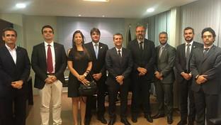 Paulo Maia recebe visita do presidente da ANPM e de procuradores municipais do Estado da Paraíba