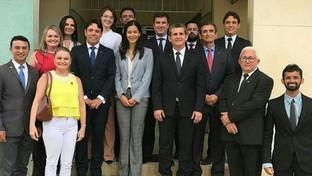 Presidente da OAB-PB cumpre agenda e visita Comarcas que integram a Subseção de Cajazeiras