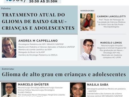 Tratamento atual do glioma de baixo grau - crianças e adolescentes