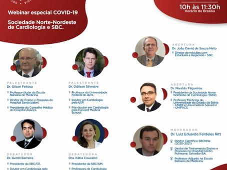 Webinar especial COVID-19: Sociedade Norte-Nordeste de Cardiologia e SBC