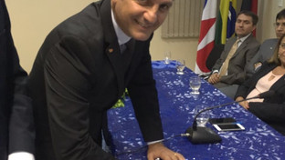 Paulo Maia assina ordem de serviço para construção da Sala do Advogado no Fórum de Cajazeiras