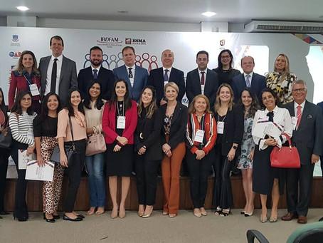IV Congresso Paraibano do IBDFAM-PB. Alunos da ESA-PB prestigiam o evento. Confira.
