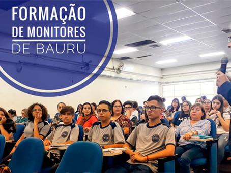 Bauru e Botucatu tem formação de monitores para o SBC vai à Escola