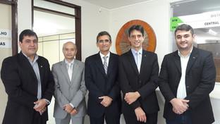 Assis Almeida visita futuras instalações da nova Sala dos Advogados em Santa Rita