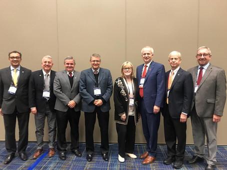 Reunião com a American Heart Association