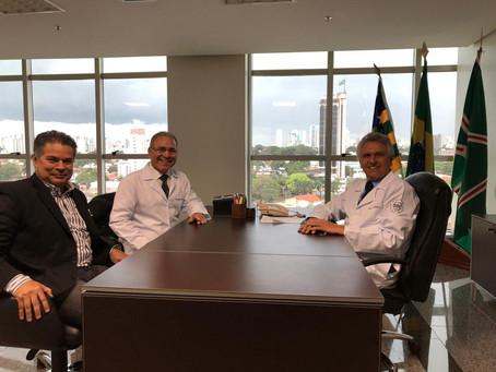 Ronaldo Caiado afirma que irá implantar o SBC vai à Escola em Goiás