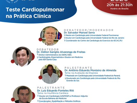 Teste Cardiopulmonar na prática clínica
