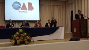 OAB-PB realiza fórum estadual de combate à corrupção no auditório do Unipê
