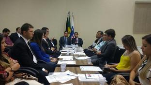 Em reunião com Paulo Maia, Subseção da OAB de Cajazeiras define metas para o ano de 2017