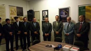 OAB-PB entrega reforma da sala dos advogados do Fórum Criminal de João Pessoa