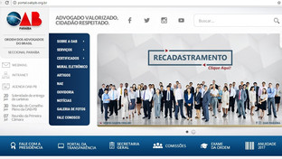 OAB-PB iniciará sistema de Inscrição Online nos próximos dias