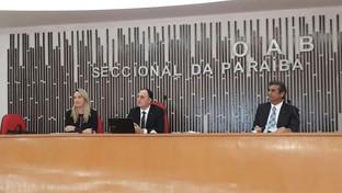 Conselho Estadual da OAB-PB aprova desagravo público contra juíza, delegado e agentes da Polícia Civ