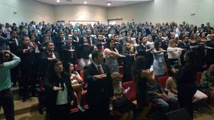 Solenidade de entrega de carteiras lota auditório do Fórum Cível de João Pessoa