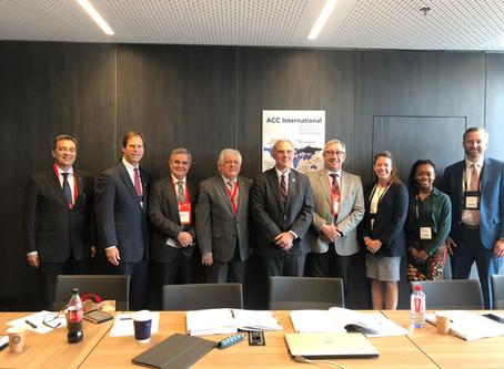 Durante o ESC Congress, SBC realiza reunião com ACC