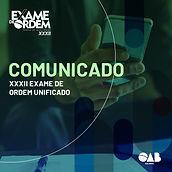 Comunicado: Coordenação do Exame de Ordem avalia manutenção de provas no dia 07 de março