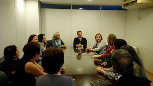 OAB-PB discute parcerias com Associação Brasileira das Mulheres de Carreira Jurídica