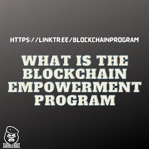 Blockchain Empowerment Program