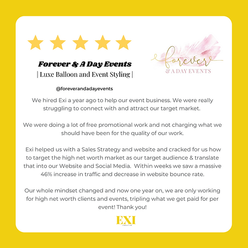 Testimonial - Forever and day events.png