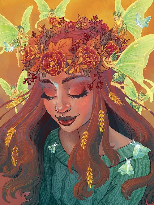 Fairy Crown - Print
