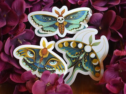 Celestial Moths - Stickers