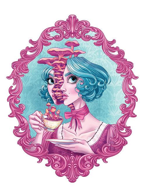 Mushroom Tea - Print