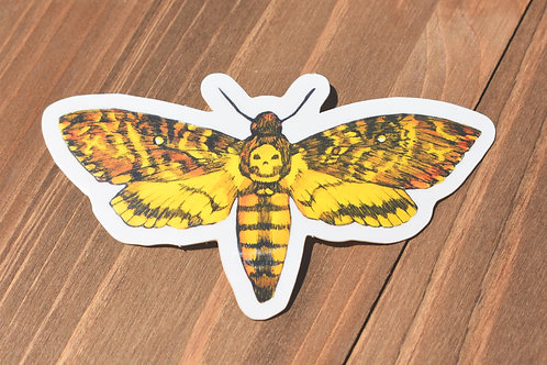 Death Head Moth - Sticker