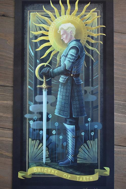 Brienne of Tarth - GoT - Print