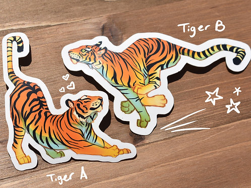 Tiger - Stickers