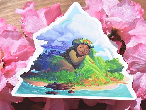 Island Girl - Sticker