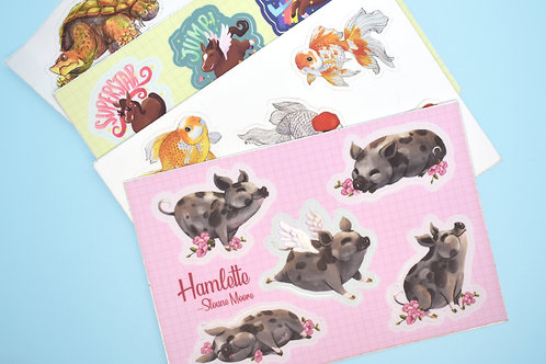 Mini Sticker Sheets