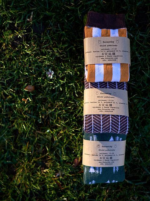 3-set_ pro skřítky z luk a hájů, pro malé dřevorubce a pro malé smíšky