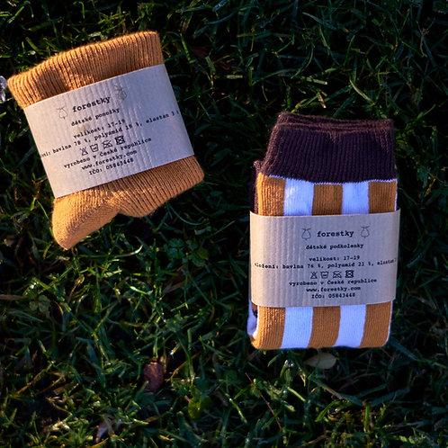 2-set _ podkolenky pro malé smíšky a ponožky pro malé objevitele
