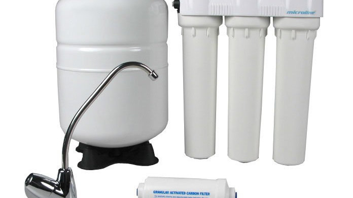 Microline 4 Stage Reverse Osmosis Drinking Water Filter (Installation included)