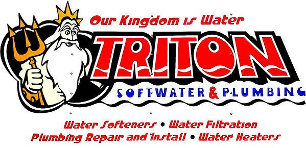 Triton Soft Water LOGO water softeners water filtration plumbing repairs water heaters