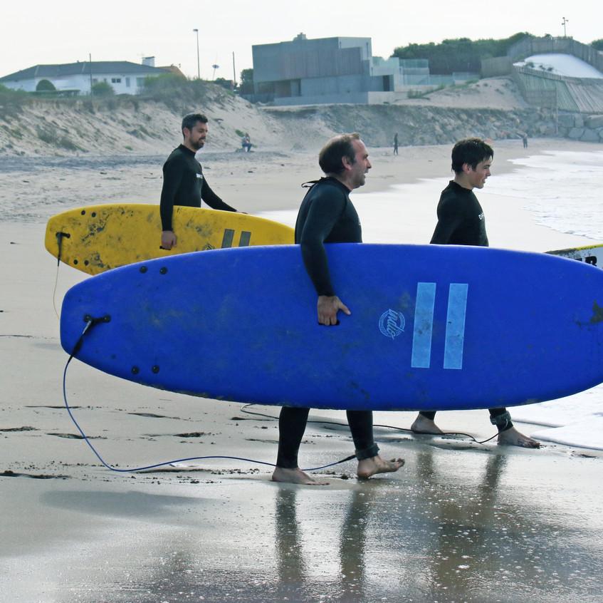 Aula surf Braga