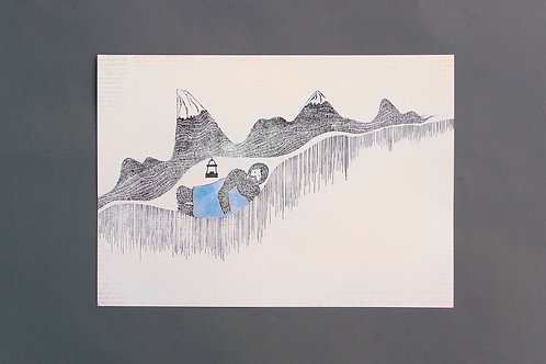 Sleeping Underground illustration