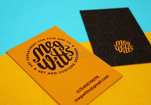 Branding Design for Meg Witts