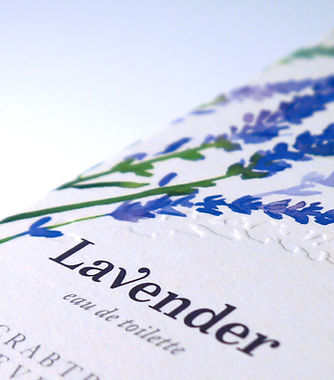 Packaging design for Crabtree & Evelyn