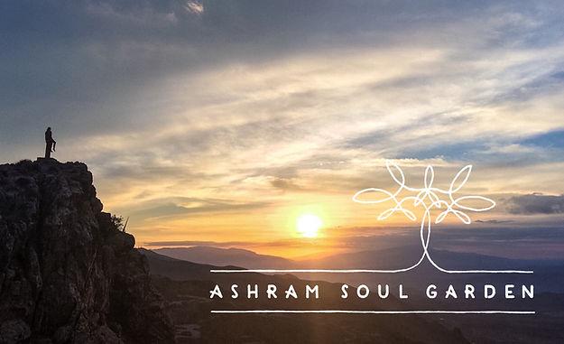 Logo and signage design for Ashram Soul Garden